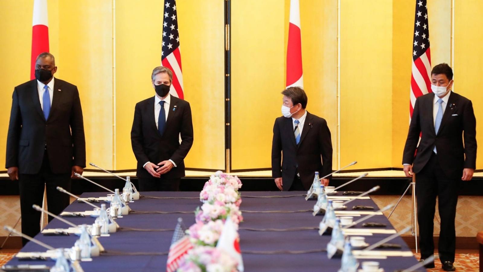 Tuyên bố chung Đối thoại 2+2: Mỹ-Nhật Bản chỉ trích đích danh Trung Quốc