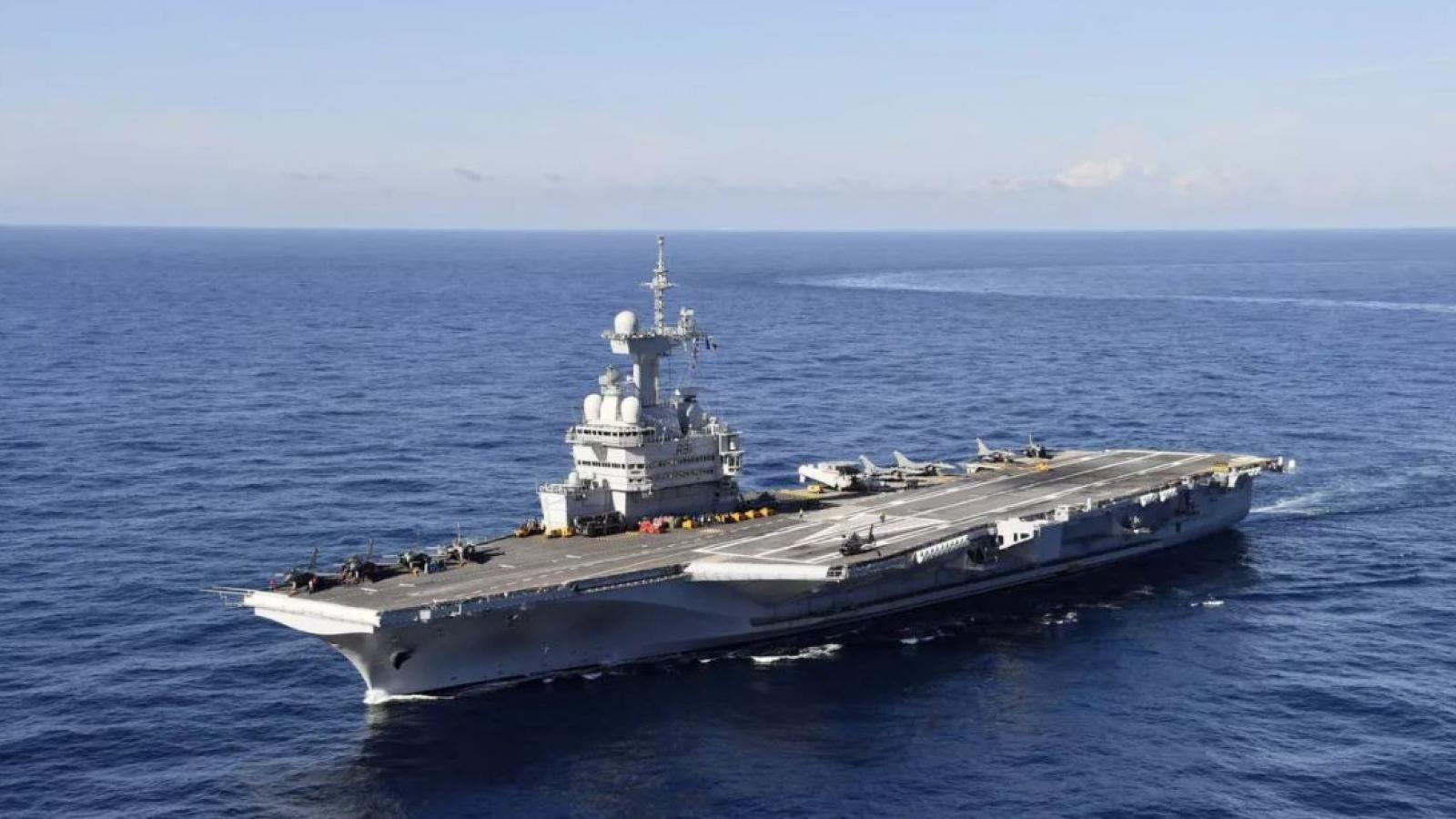 Ai Cập và Pháp tập trận hải quân chung trên Biển Đỏ
