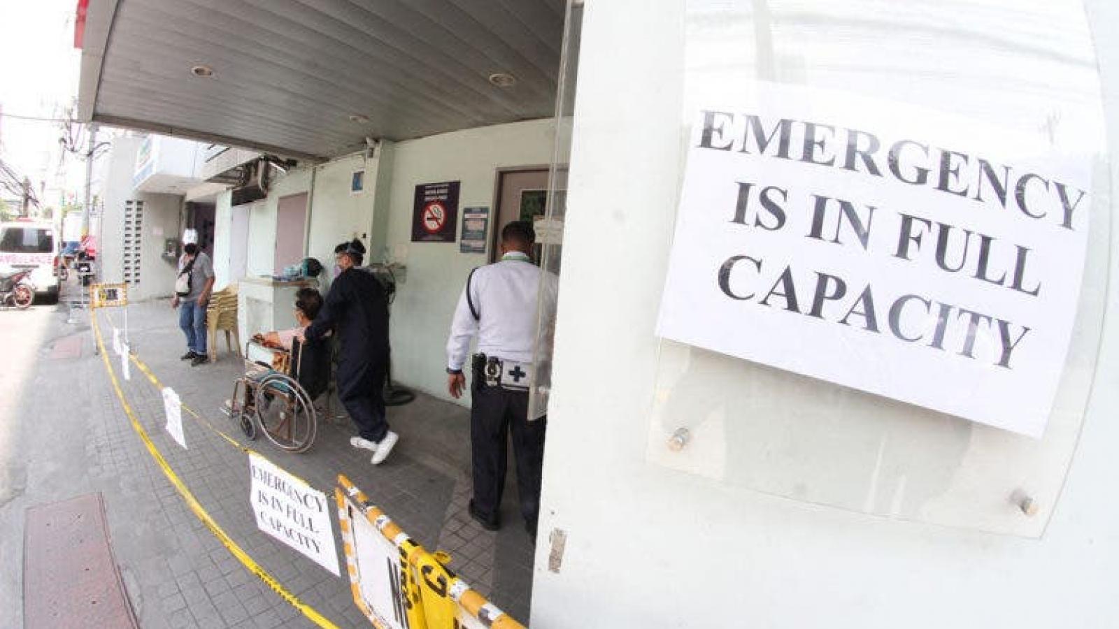 Làn sóng Covid-19 mới khiến bệnh viện ở Philippines báo động quá tải