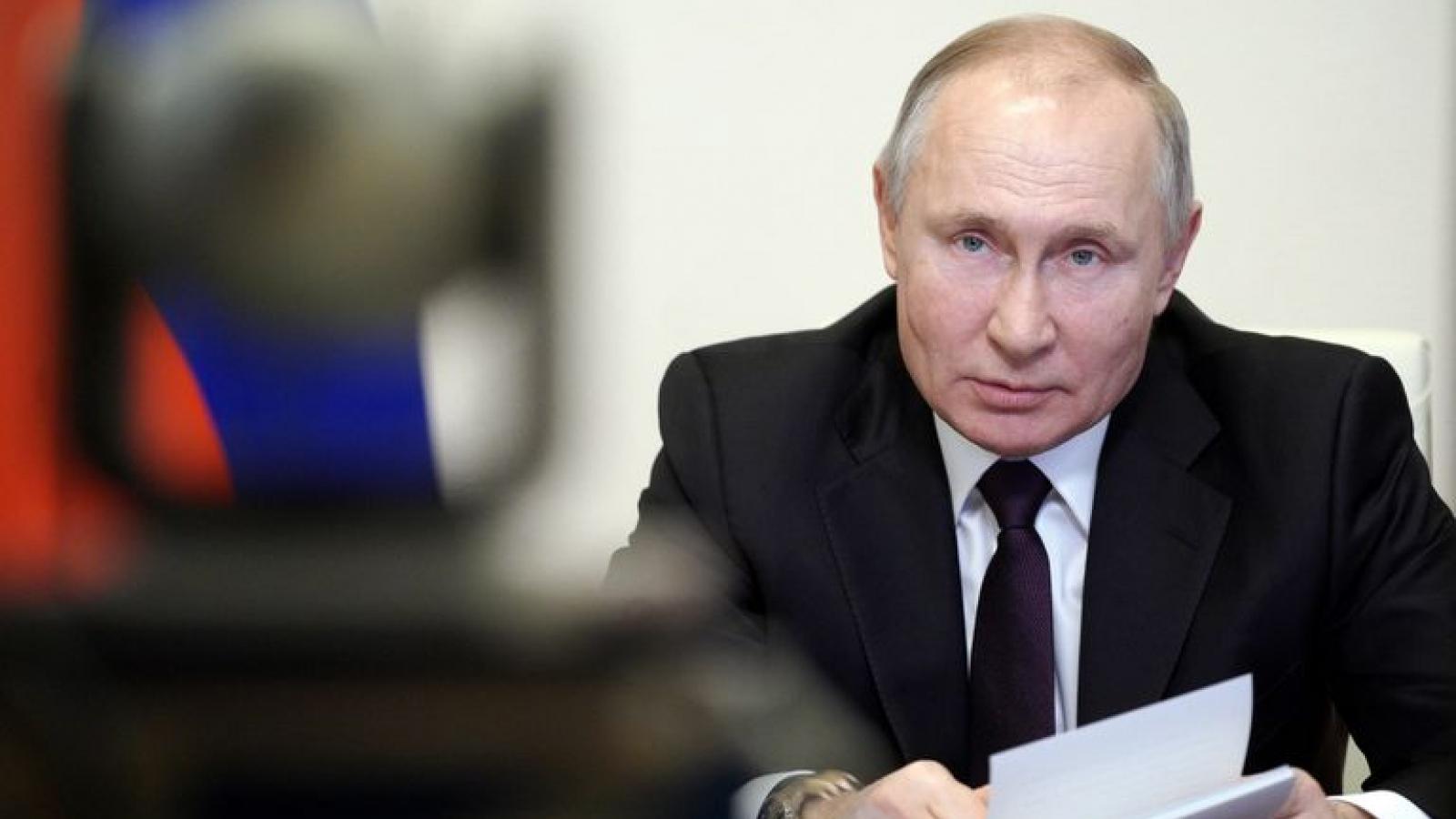 """Phản ứng của Tổng thống Putin khi EU nói """"không cần vaccine Sputnik V"""""""