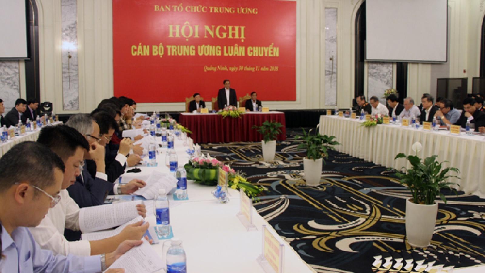 Hiệu quả trong công tác luân chuyển cán bộ ở Quảng Ninh