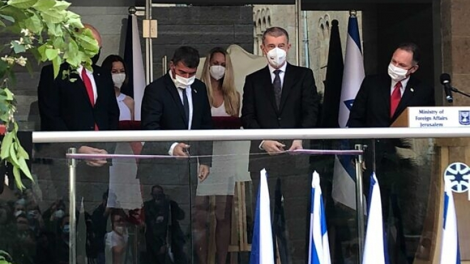Séc khánh thành văn phòng ngoại giao tại Jerusalem