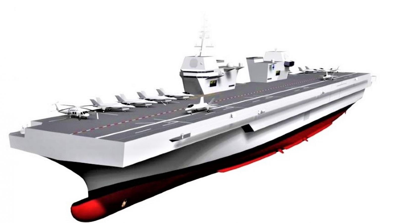 Hàn Quốc đóng hàng không mẫu hạm mà nước này không cần?