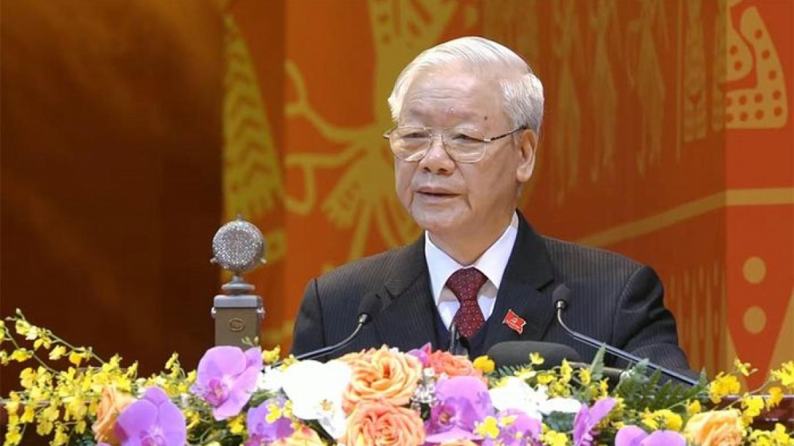 Lãnh đạo các đảng, bạn bè quốc tế tiếp tục gửi thư chúc mừng Tổng Bí thư