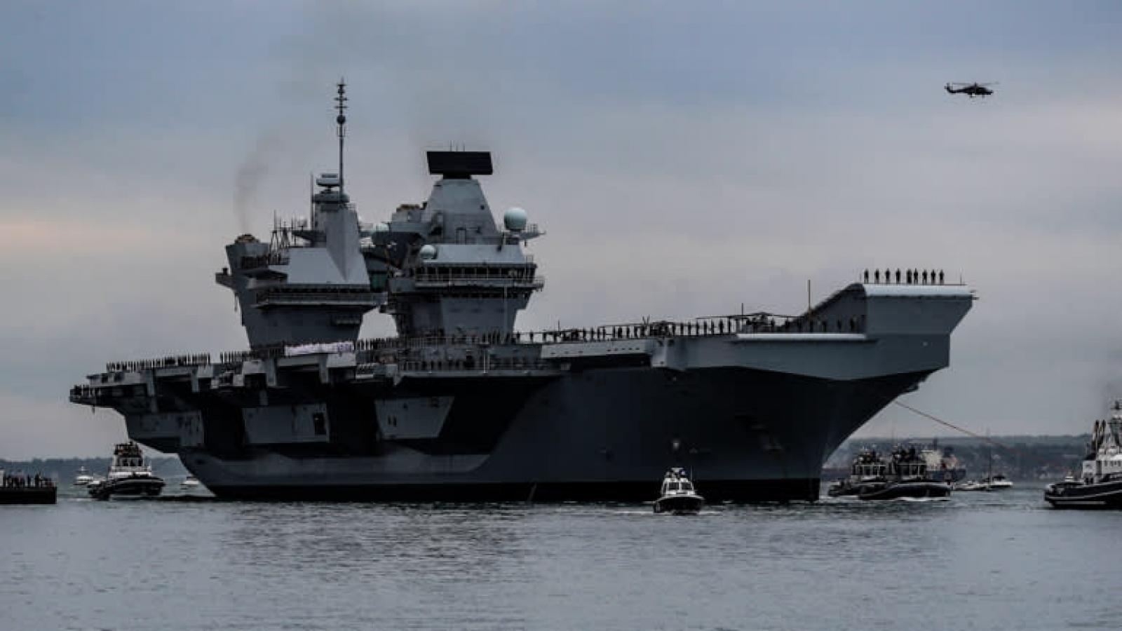 """Điều tàu chiến tới Ấn Độ - Thái Bình Dương: Châu Âu không còn """"ngại"""" đối đầu Trung Quốc?"""