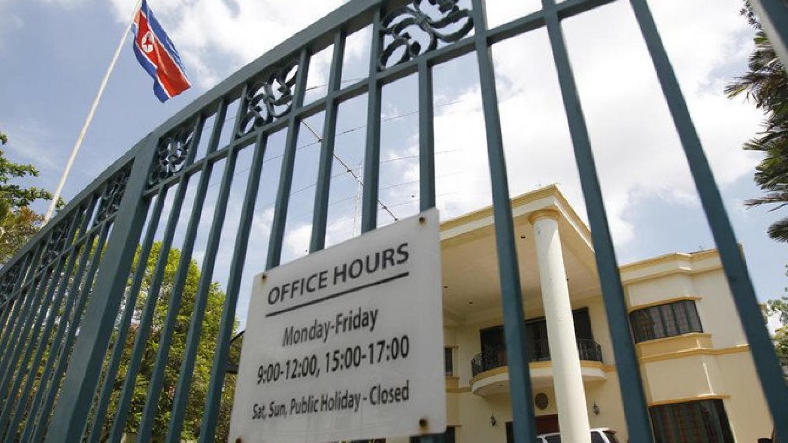 Đại sứ quán Triều Tiên tại Malaysia chính thức đóng cửa