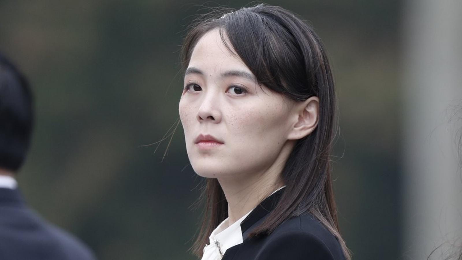 Em gái ông Kim Jong Un chỉ trích Hàn Quốc chỉ biết làm theo ý của Mỹ