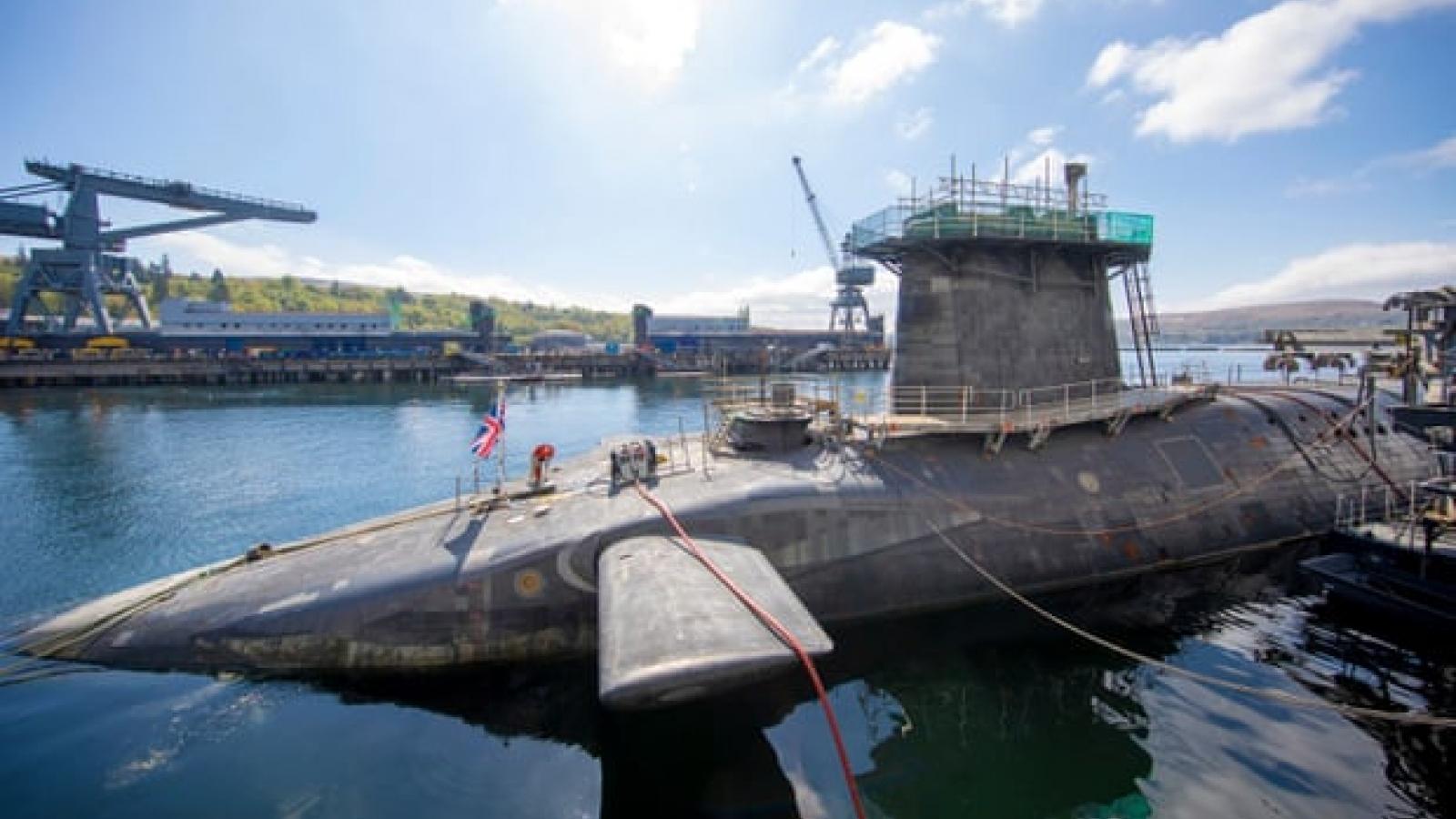 Anh tăng dự trữ đầu đạn hạt nhân, hướng tham vọng đến Ấn Độ -Thái Bình Dương