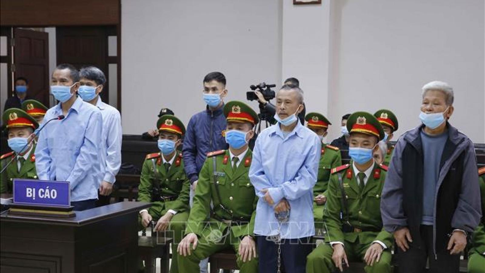 Vụ án Đồng Tâm: Y án tử hình với 2 bị cáo Lê Đình Công, Lê Đình Chức
