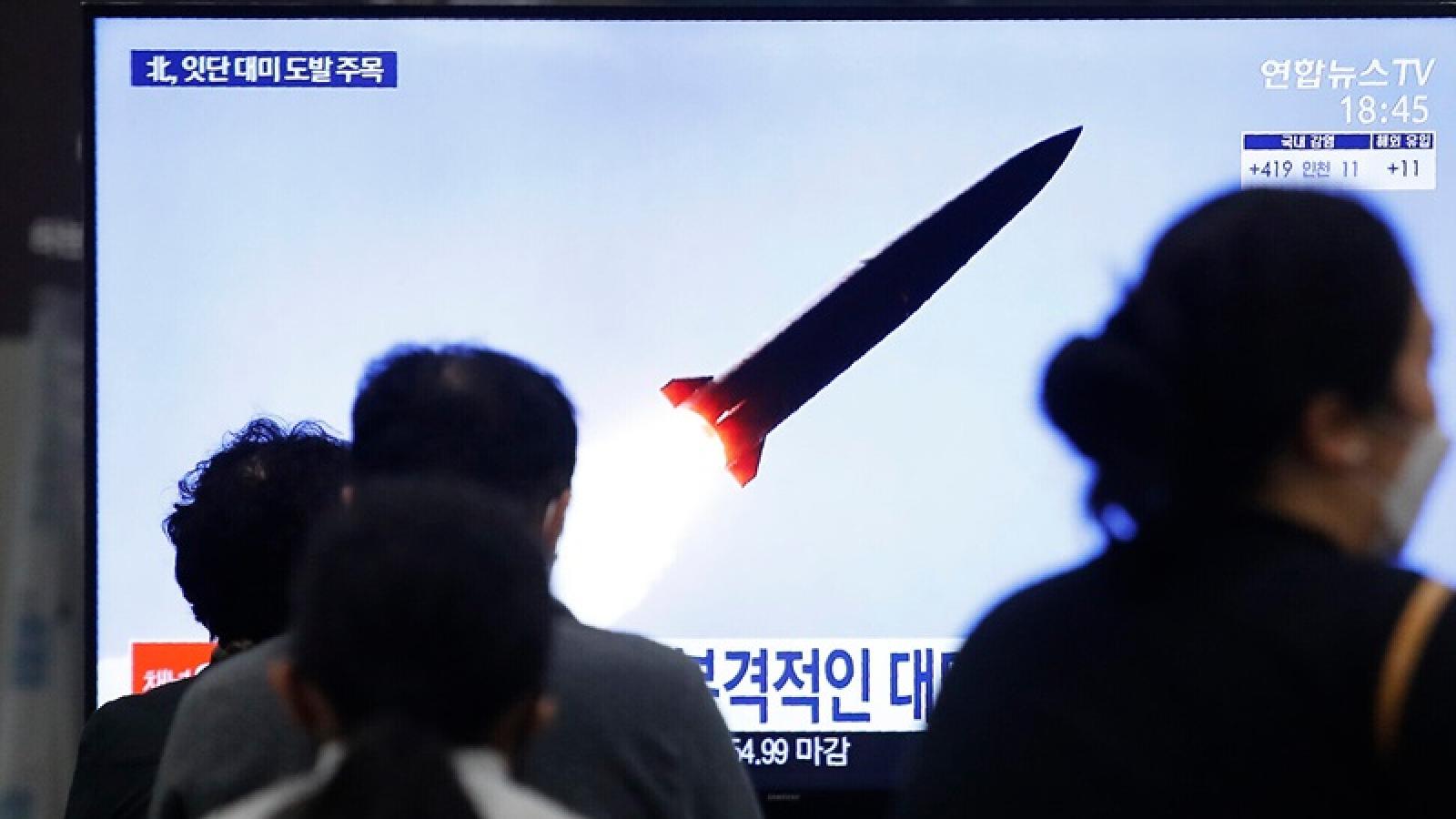 Triều Tiên đáp lại chỉ trích của Mỹ sau vụ phóng tên lửa