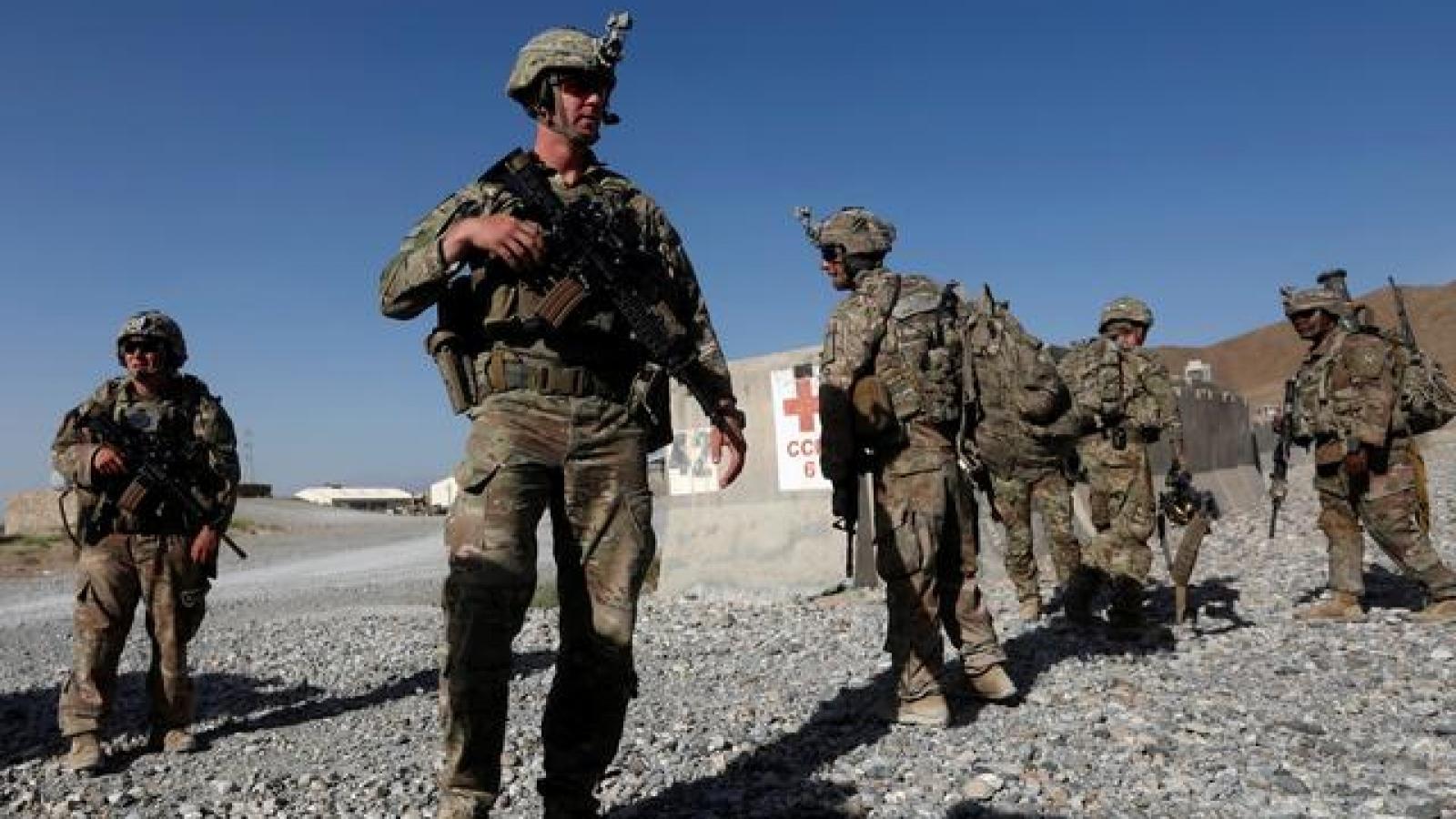 Mỹ khó rút quân khỏi Afghanistan vào hạn chót 1/5