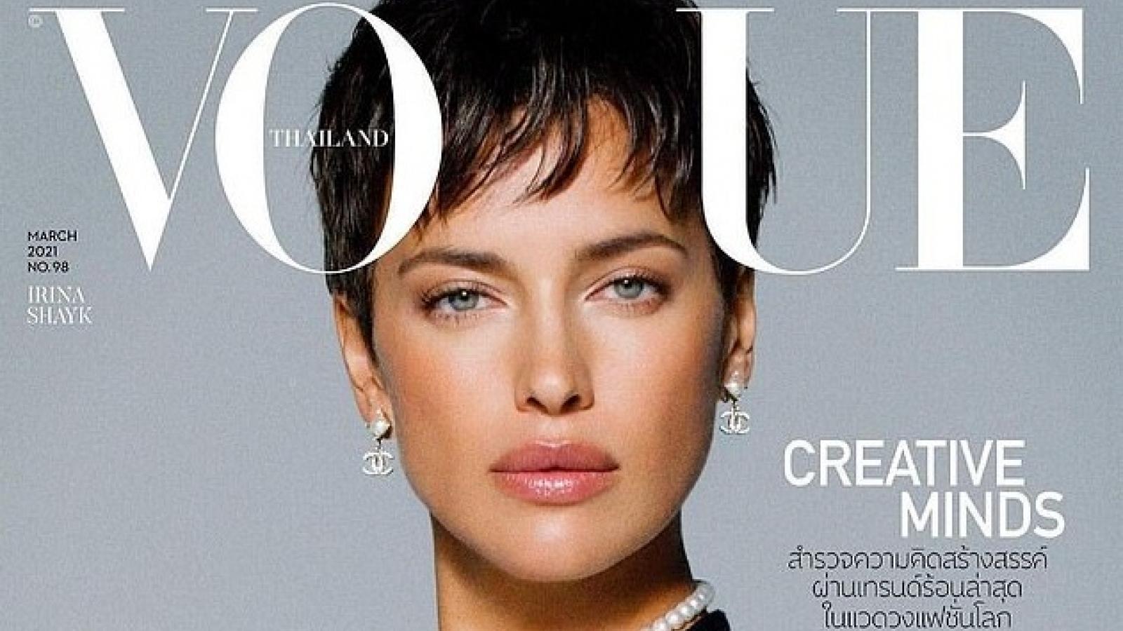Irina Shayk quyến rũ trên tạp chí Vogue Thái Lan