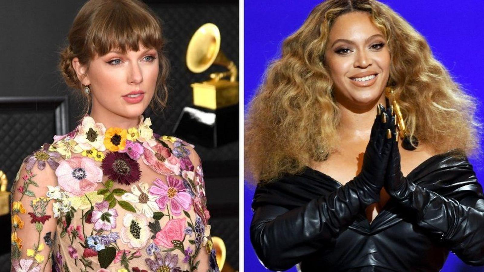 Taylor Swift, Beyoncé làm nên lịch sử với chiến thắng thuyết phục tại Grammy 2021