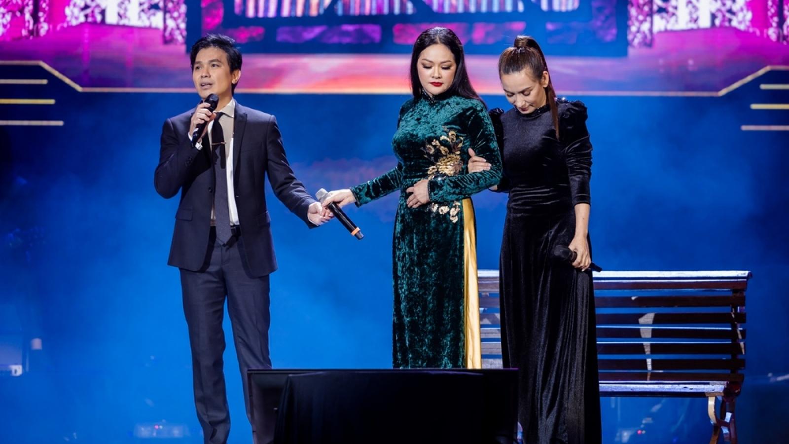 """Như Quỳnh - Mạnh Quỳnh - Phi Nhung tái hiện liên khúc """"Nhẫn cưới"""" sau tròn 20 năm"""