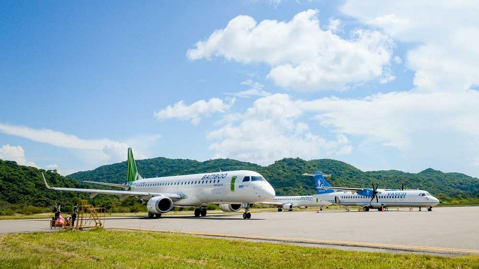 Khách tới Côn Đảo tăng mạnh sau khi Bamboo Airways phá thế độc quyền