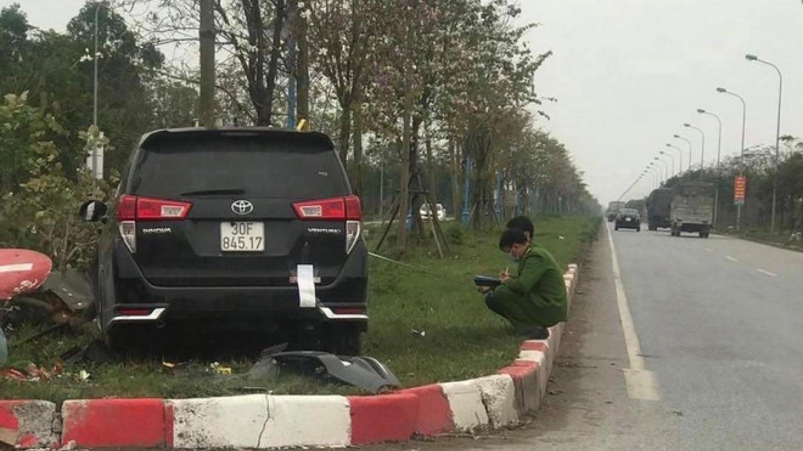 """Thông tin mới nhất về vụ """"xe điên"""" gây tai nạn liên hoàn ở Mê Linh, Hà Nội"""
