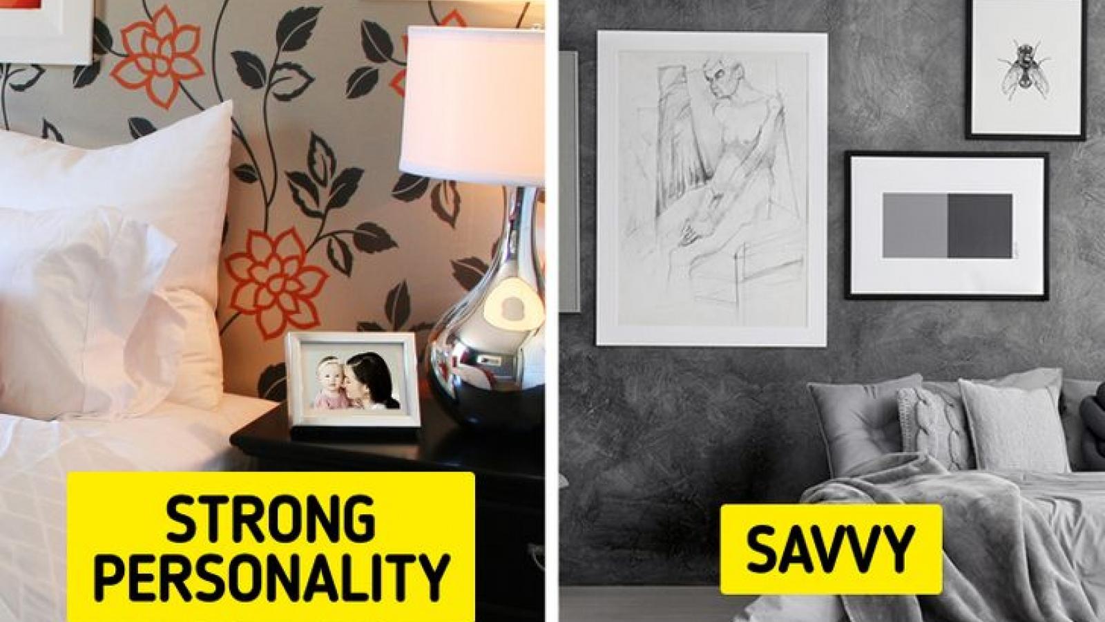 Những chi tiết nhỏ trong phòng ngủ bật mí tính cách thật của bạn
