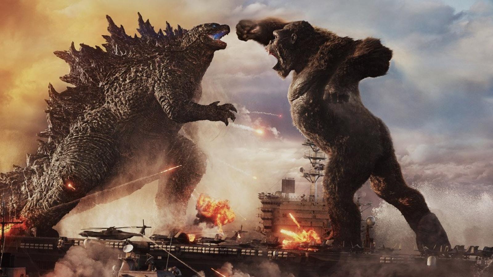 """""""Godzilla đại chiến Kong"""" kéo hơn 1 triệu khán giả đến rạp sau 5 ngày"""