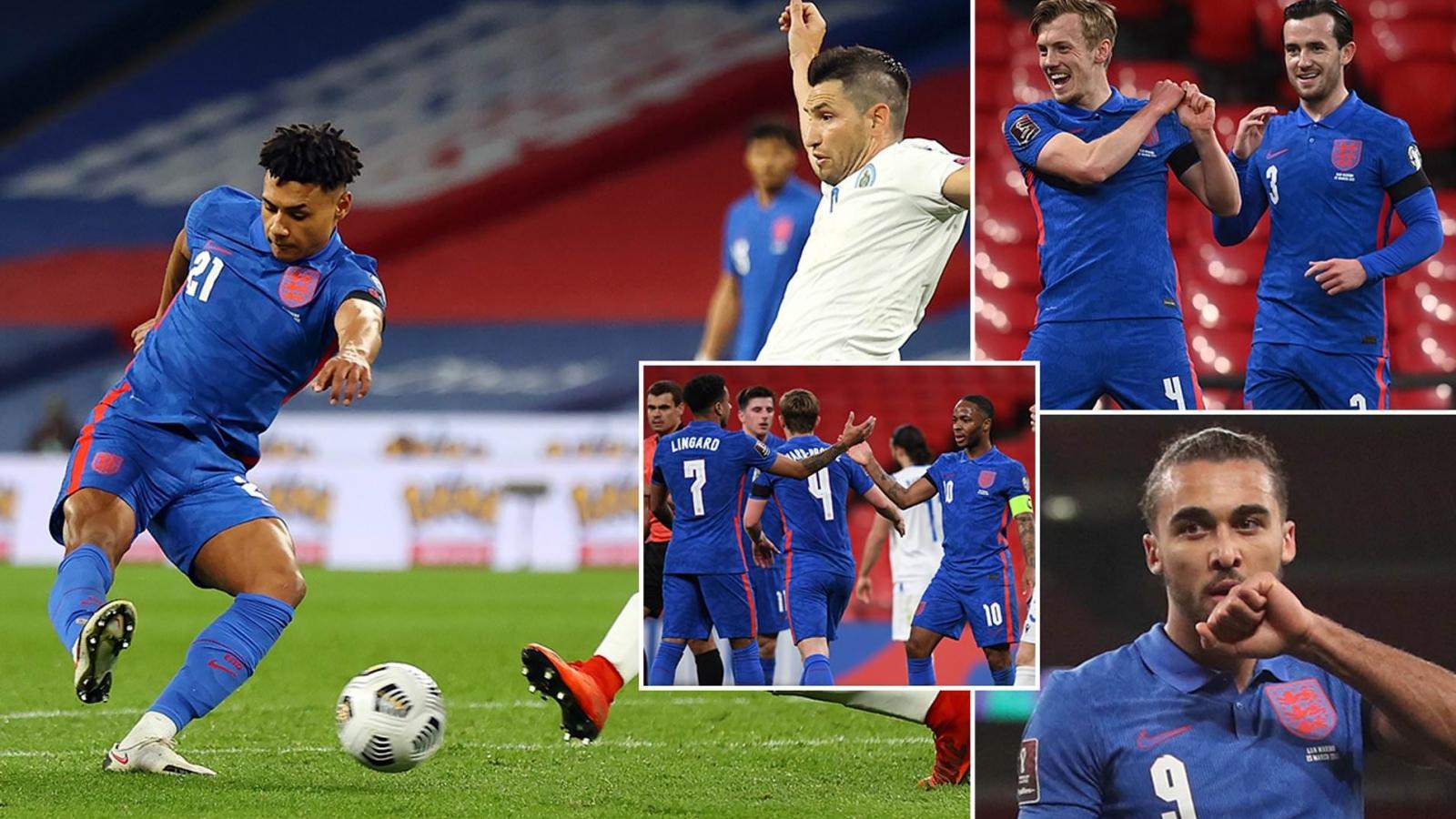 Vòng loại World Cup 2022: Anh, Đức, Italia rủ nhau thắng tưng bừng