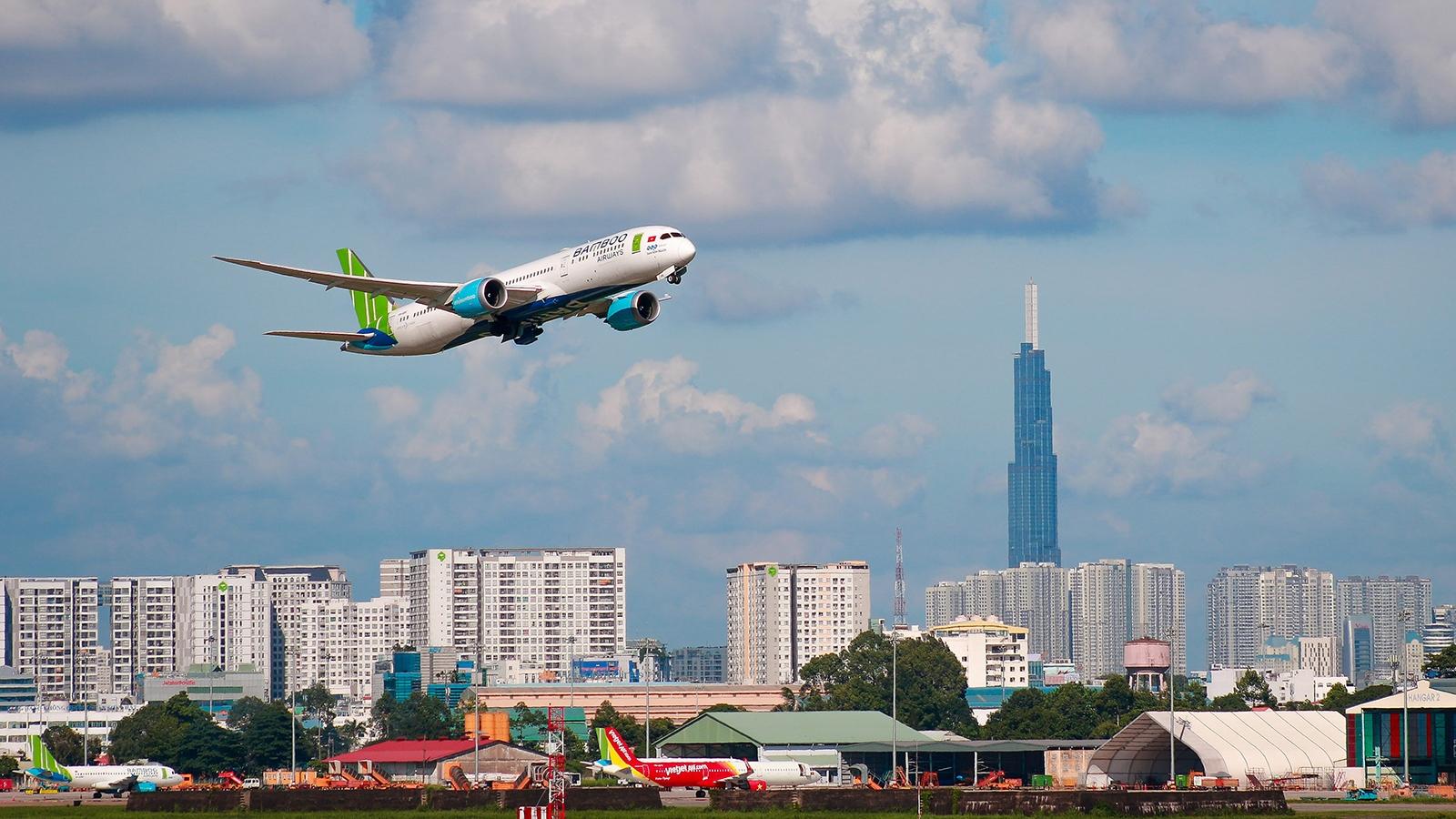 Bamboo Airways bay đúng giờ nhất trong top 3 hãng hàng không lớn vào quý 1