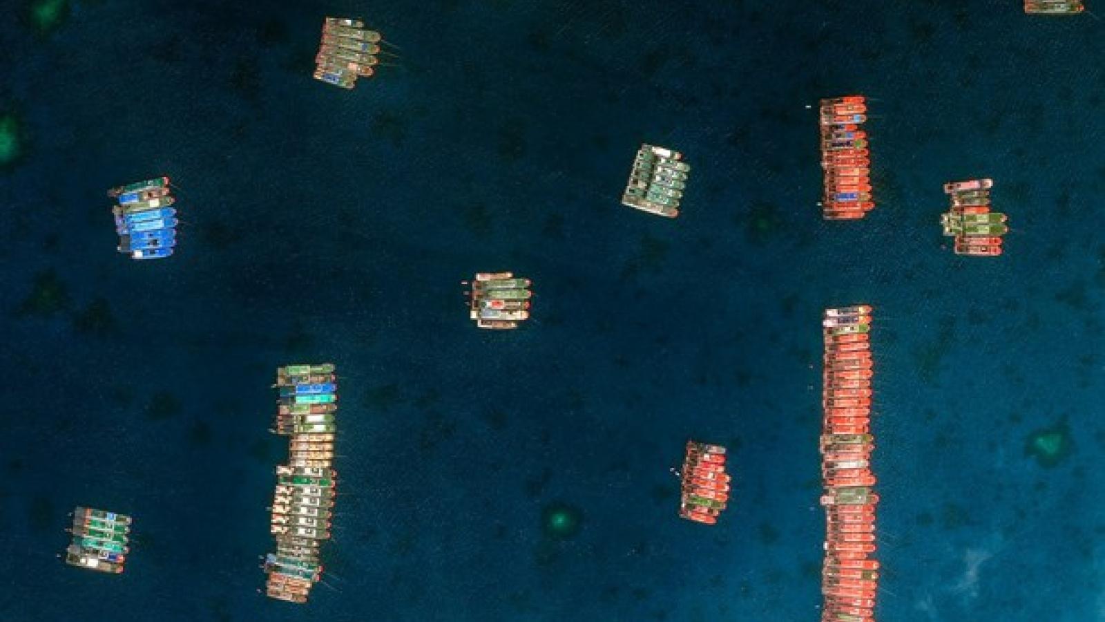 Philippines quan ngại về sự hiện diện của nhiều tàu Trung Quốc ở Biển Đông