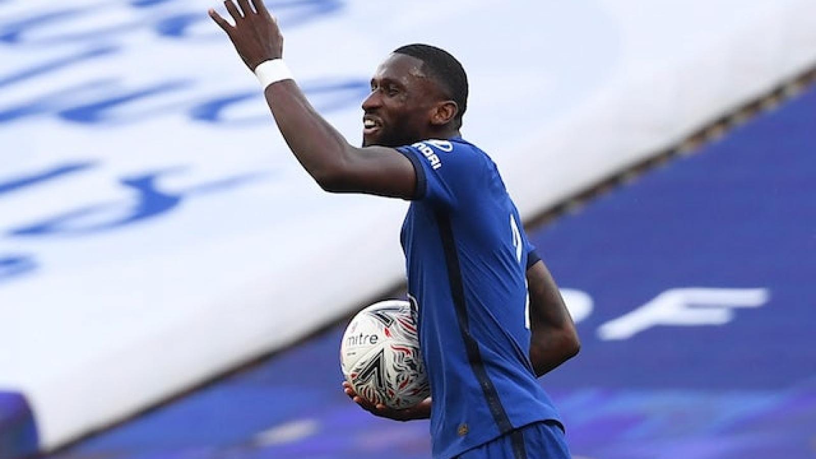 Chelsea gấp rút đàm phán gia hạn hợp đồng với Rudiger