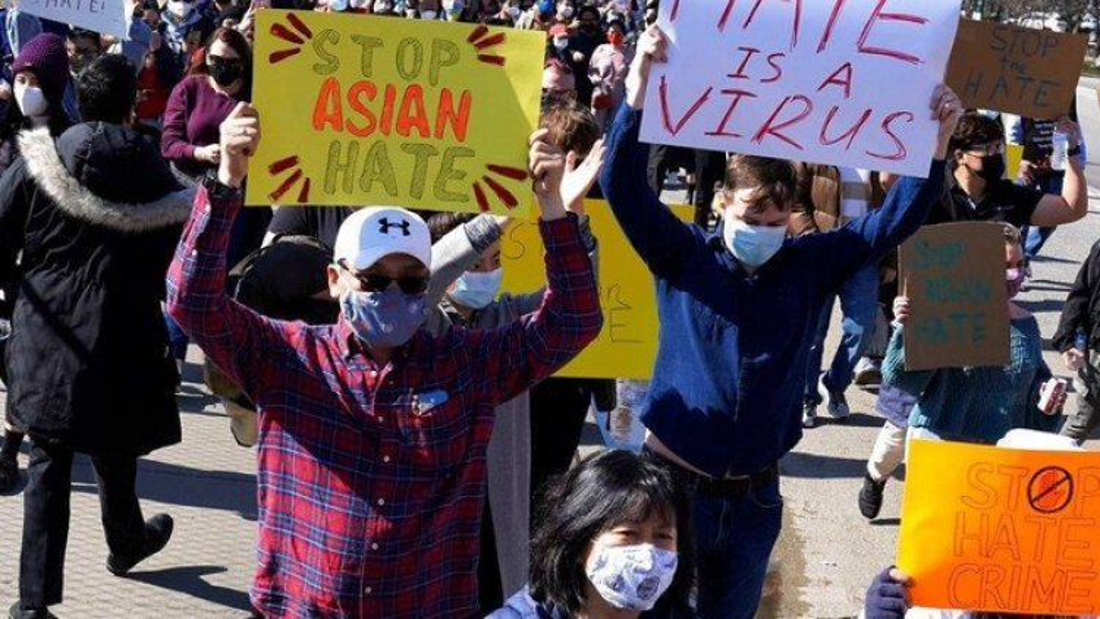 Nhiều cuộc biểu tình ủng hộ người gốc Á diễn ra tại Mỹ