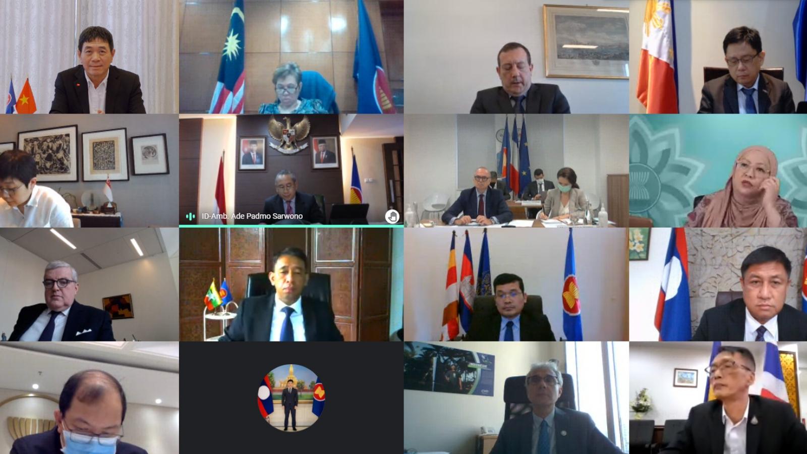 Pháp khẳng địnhcoi trọng hợp tác với ASEAN