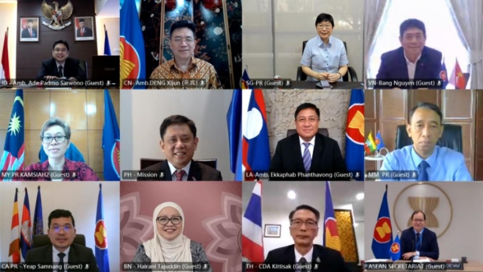 Trung Quốc: ASEAN là ưu tiên hàng đầu trong chính sách ngoại giao láng giềng
