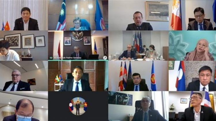 First ASEAN-France DPC meeting held virtually