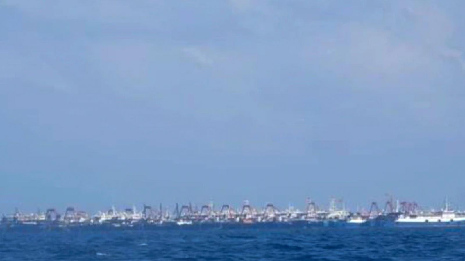 Báo chí Australia đưa tin về việc Trung Quốc đưa tàu đến đá Ba Đầu ở cụm Sinh Tồn