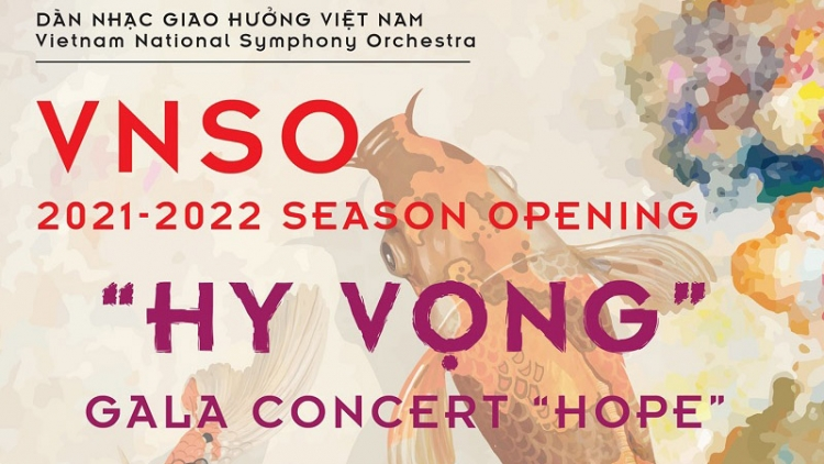 "The Gala Concert ""Hope"" at Hanoi Opera House"