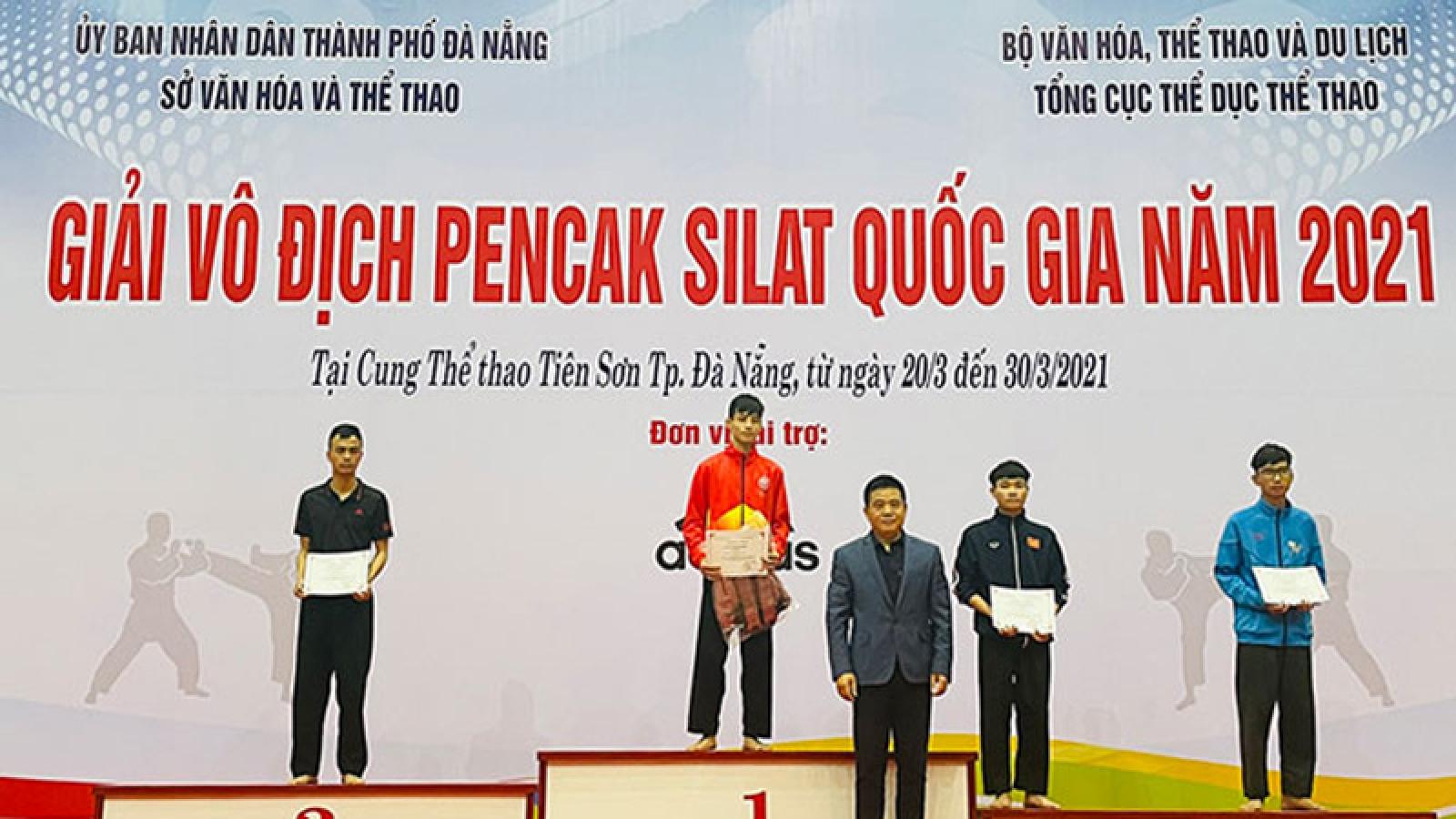 Hanoi team enjoy triumph at National Pencak Silat Championships