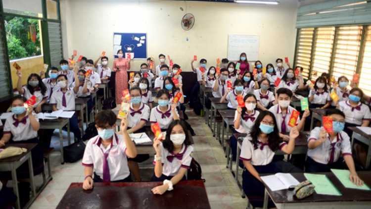 Students in HCM City eager for school return