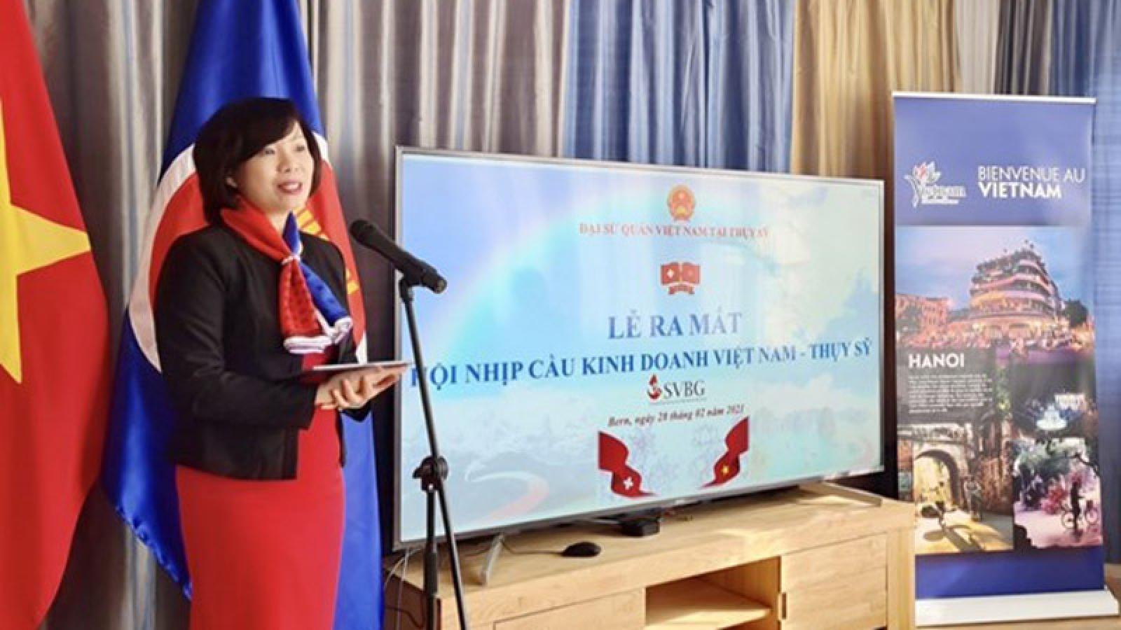 Switzerland-Vietnam business group debuts