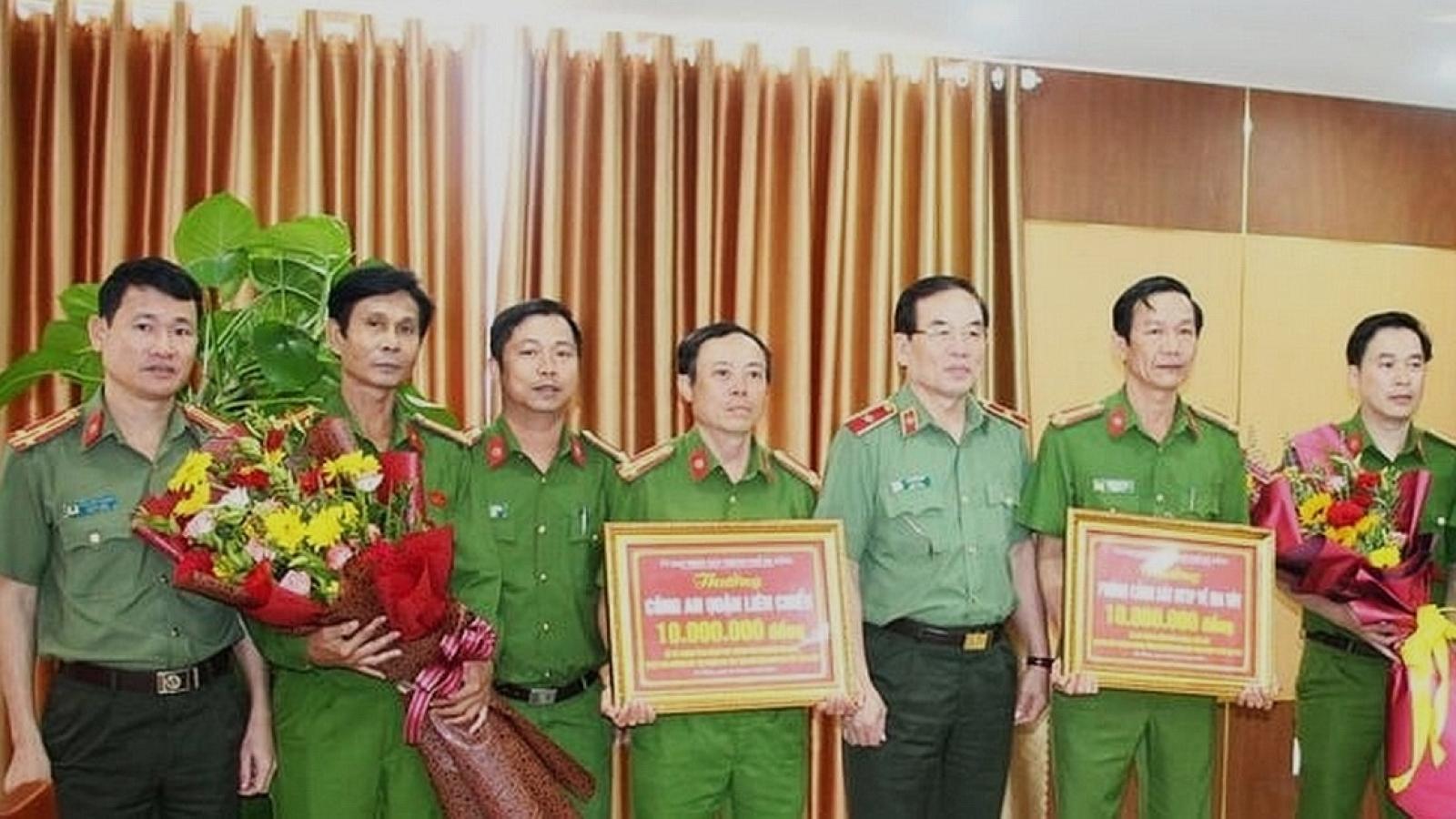 Đà Nẵng khen thưởng công an phá 2 chuyên án ma túy lớn
