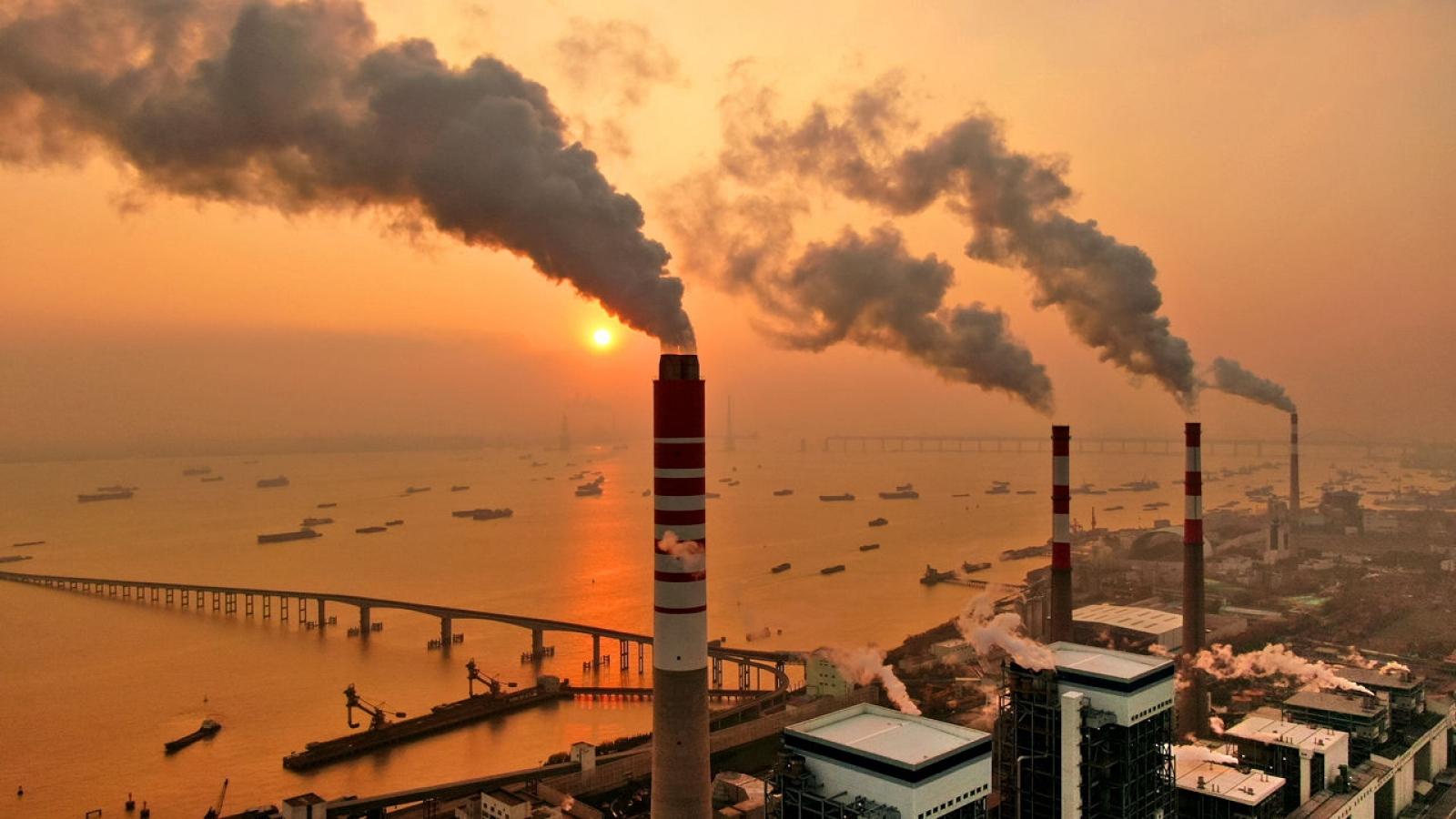 Trung Quốc phát triển công nghệ thu và lưu trữ carbon thế hệ mới giúp giảm khí phát thải