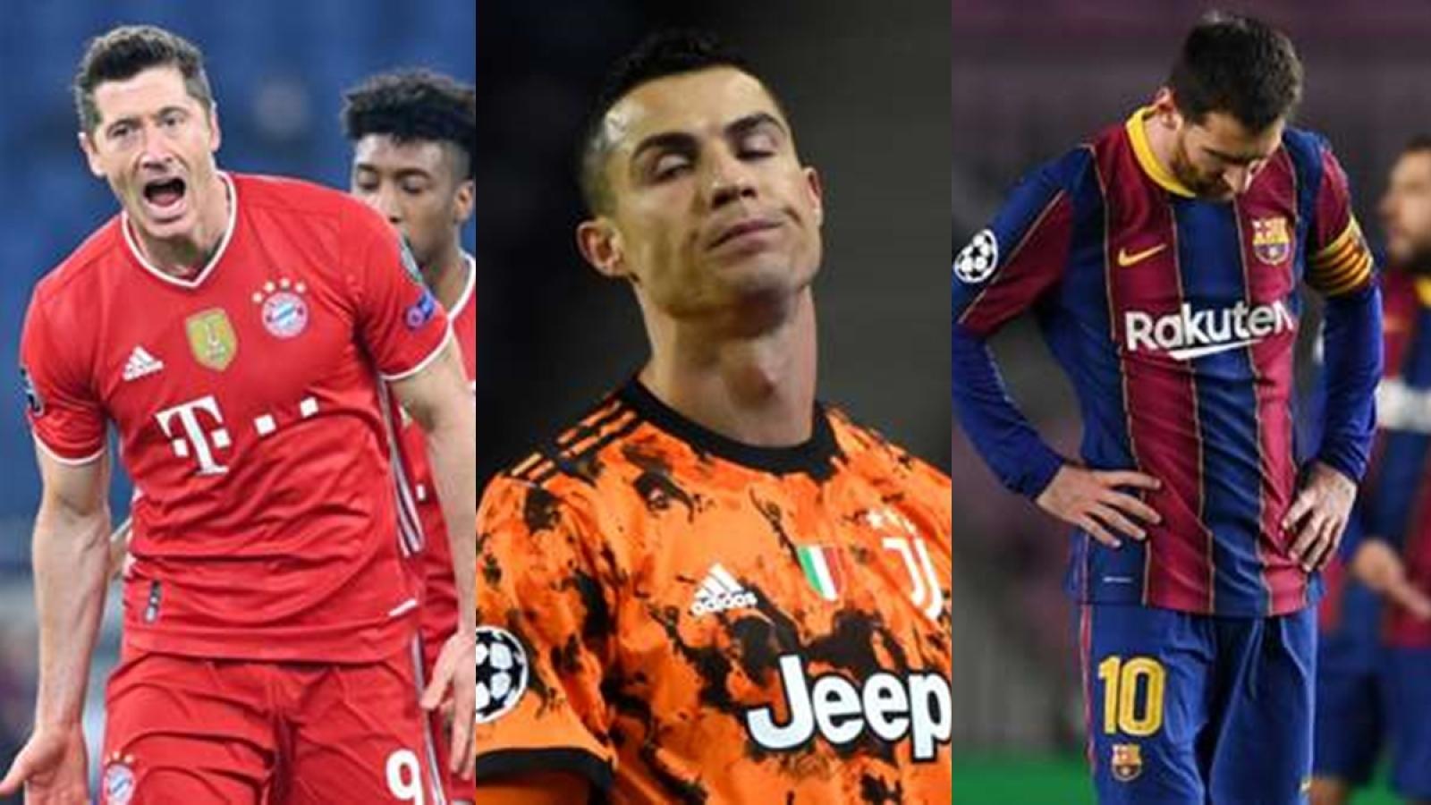 Bảng xếp hạng sức mạnh các đội vòng 1/8 Champions League: Buồn cho Barca