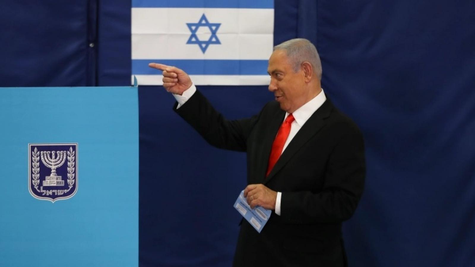 Bầu cử Israel - Phép thử chính sách của Thủ tướng Netanyahu