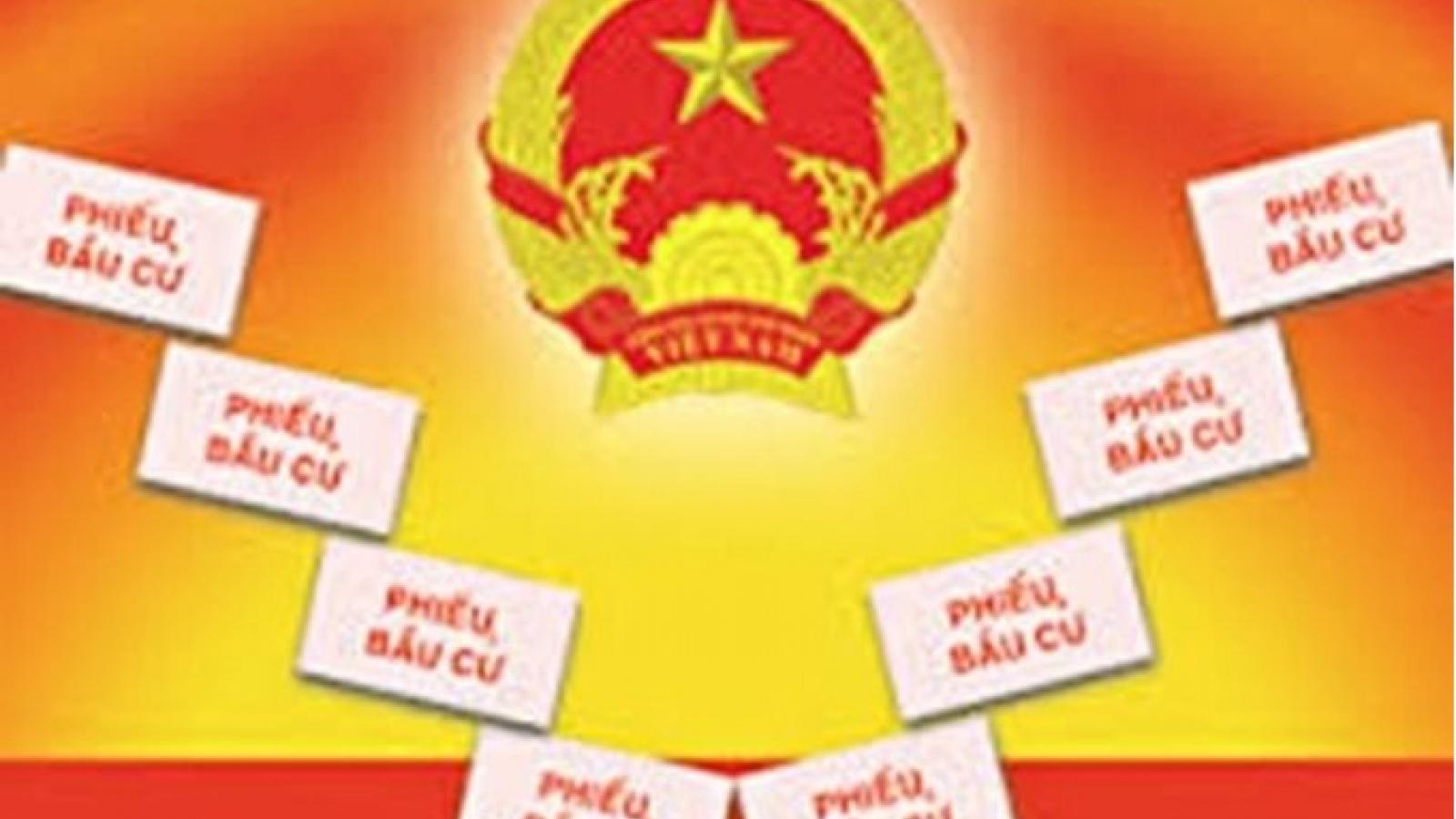 Cà Mau có 14 đơn vị bầu cử