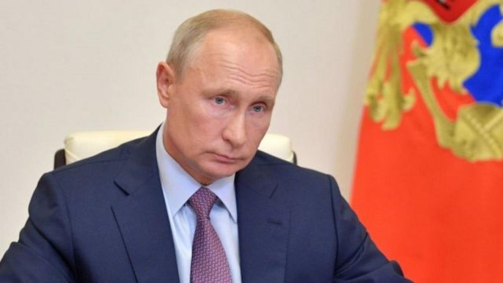 Tổng thống Nga Putin kêu gọi đối thoại cởi mở với Tổng thống Mỹ Biden