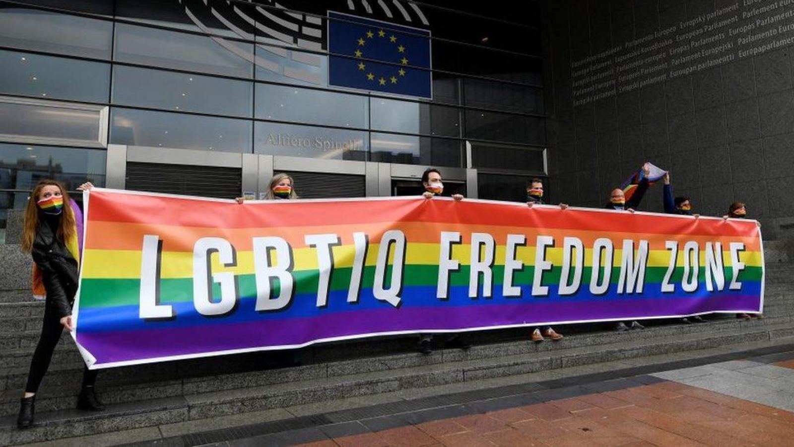 Liên minh châu Âu trở thành khu vực tự do cho cộng đồng LGBT