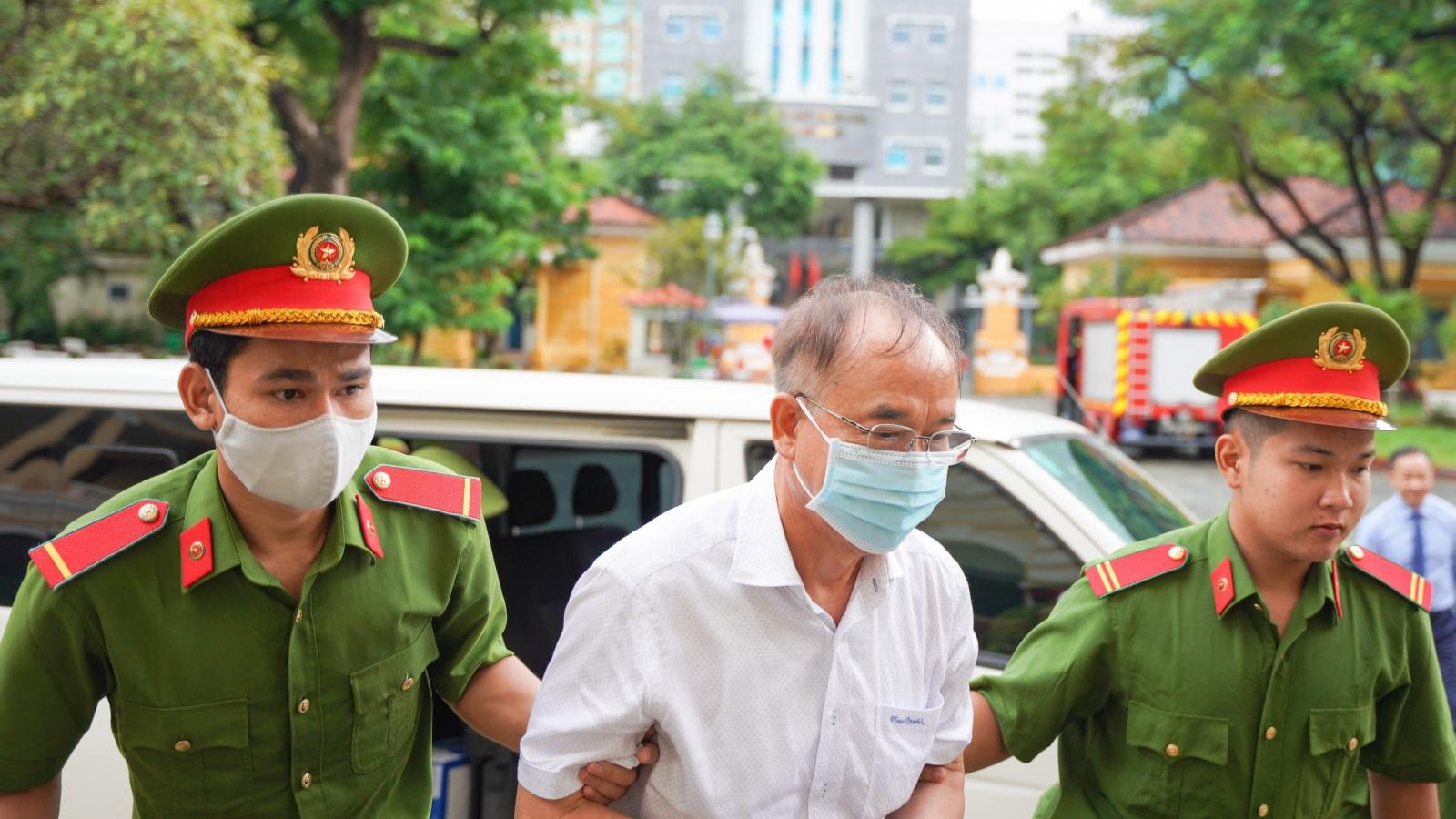 Cựu Phó Chủ tịch UBND TPHCM Nguyễn Thành Tài tiếp tục hầu tòa
