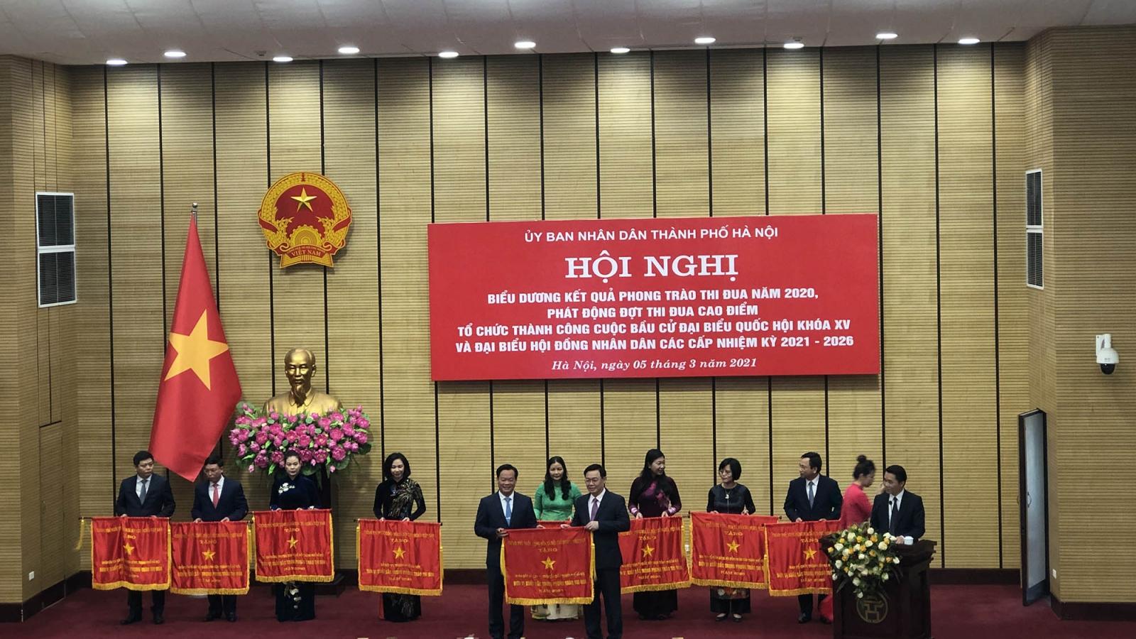 Hà Nội phát động đợt thi đua cao điểm tổ chức thành công bầu cử Quốc hội và HĐND các cấp