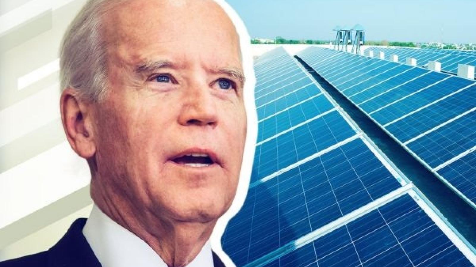 Mỹ công bố mục tiêu cắt giảm chi phí năng lượng