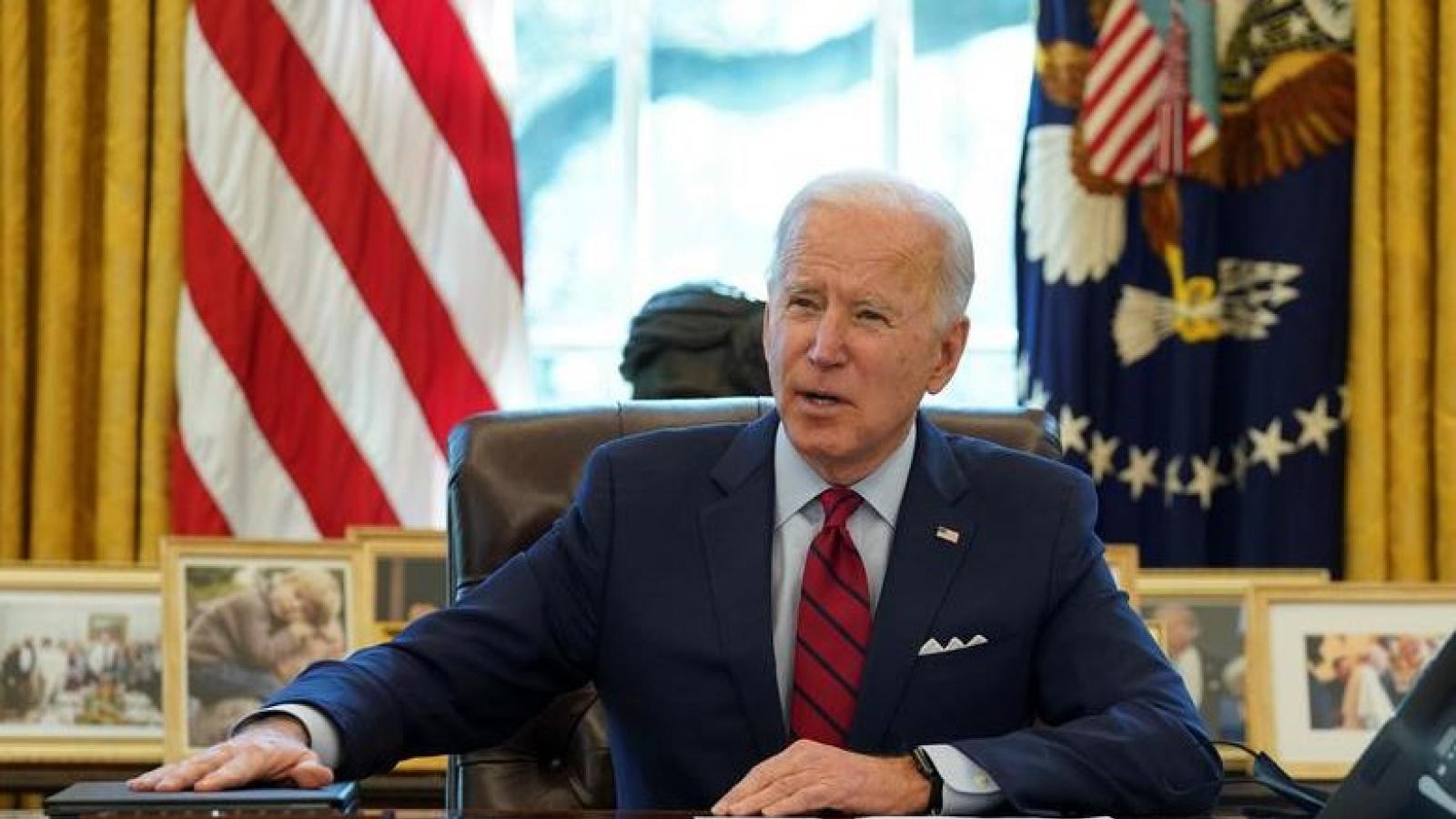 """Chính quyền Biden """"từng bước"""" thực hiện các cam kết ở châu Á -Thái Bình Dương"""
