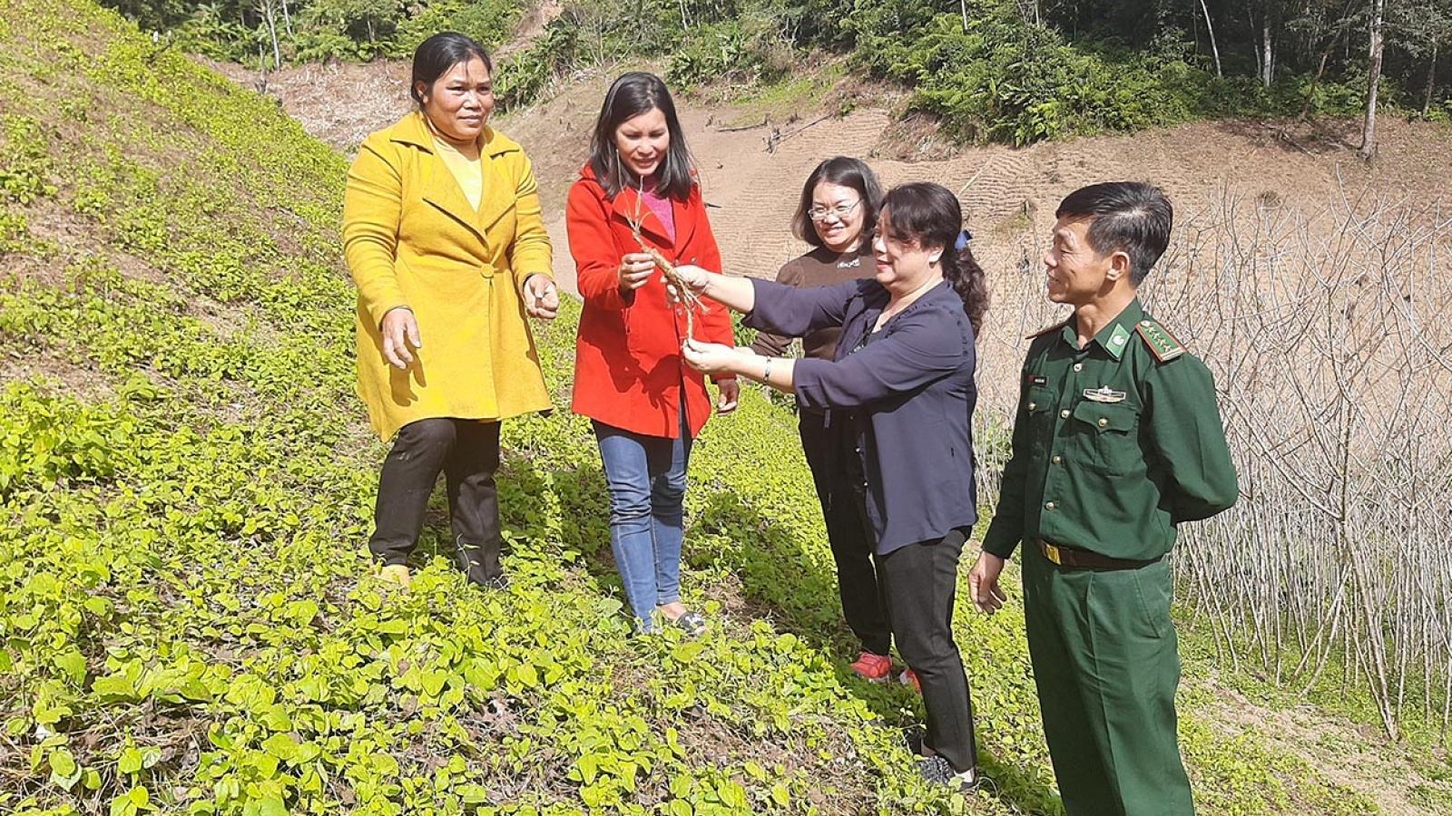 Xây dựng thế trận biên phòng toàn dân vững mạnh trên biên giới Kon Tum