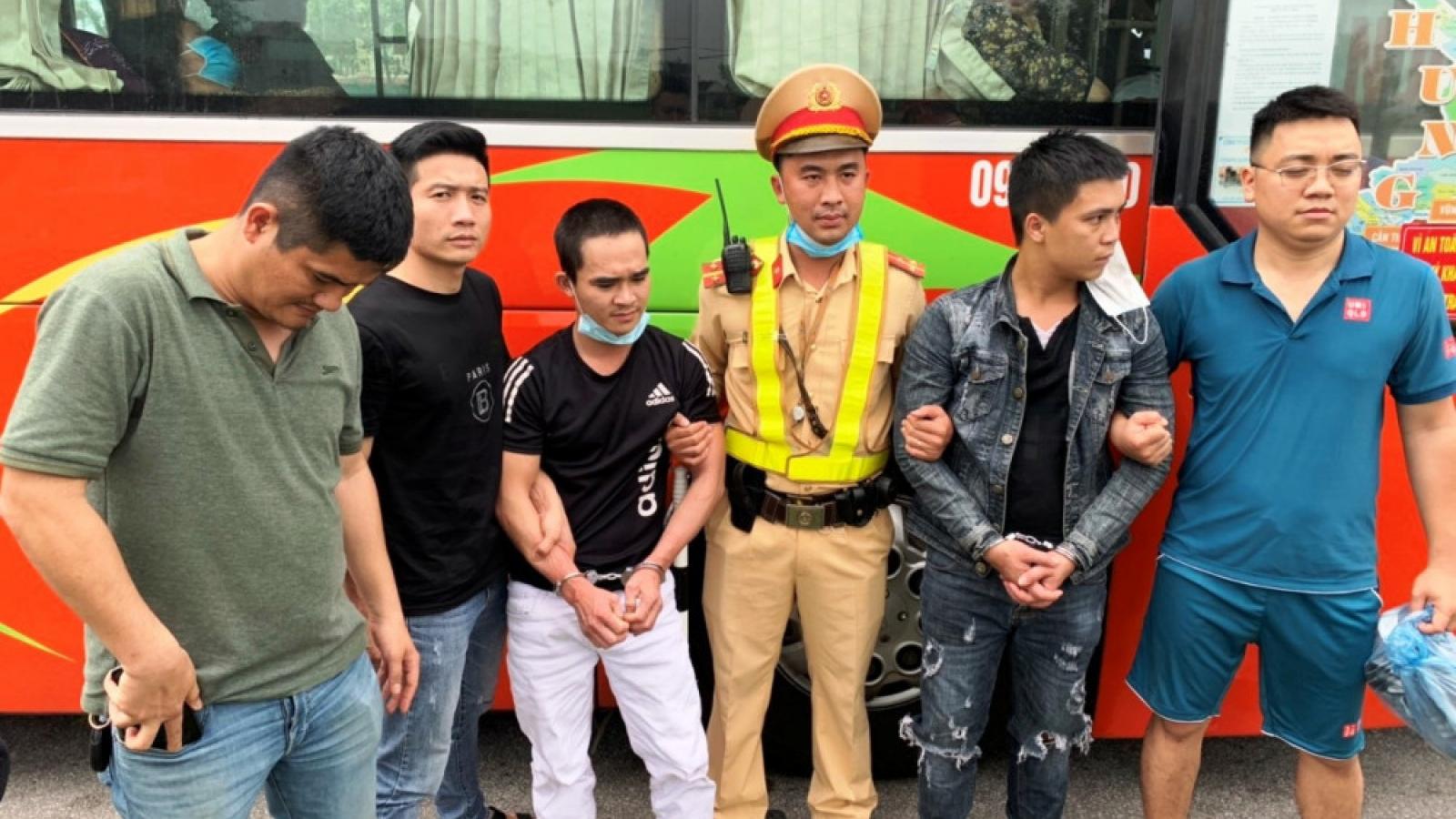 Hai đối tượng bỏ trốn khỏi nhà giam giữ ở Đà Nẵng bị bắt ởHà Tĩnh