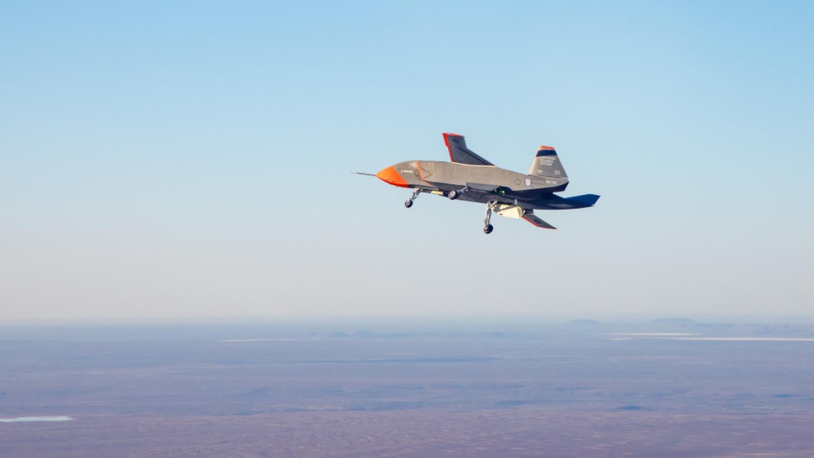Australia thử nghiệm thành công máy bay không người lái quân sự đầu tiên