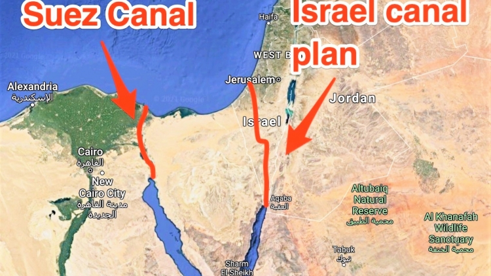 Mỹ từng có kế hoạch dùng 520 quả bom hạt nhân tạo một kênh đào thay thế Suez